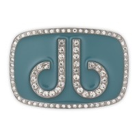 Druh Diamante Oval Buckle - Aqua