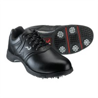 Woodworm Golf Player Golf Shoes - Black