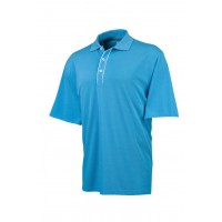 Ashworth Mens EZ Tech Solid Pique Polo