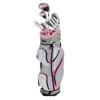 GolfGirl FWS3 Ladies Complete All Graphite Golf Clubs Set with Cart Bag