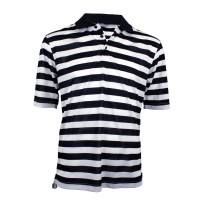 Woodworm Pro Striped Polo