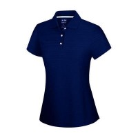 Adidas ClimaLite Girls Textured Polo