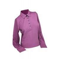 Ashworth Long Sleeve Merino Golf Shirt