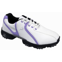 Woodworm Golf Ladies Golf Shoes - White / Lilac
