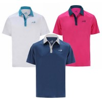 Woodworm Solid Tech Golf Polo Shirts 3 Pack