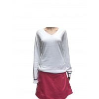 Oakley Ladies Top Hill Sweater - All White
