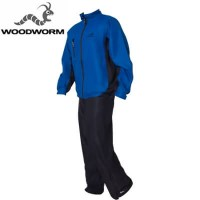 Woodworm Golf Waterproof Suit - Blue